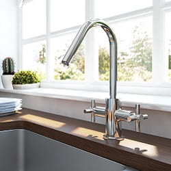 Pecan Easyfit Kitchen Tap