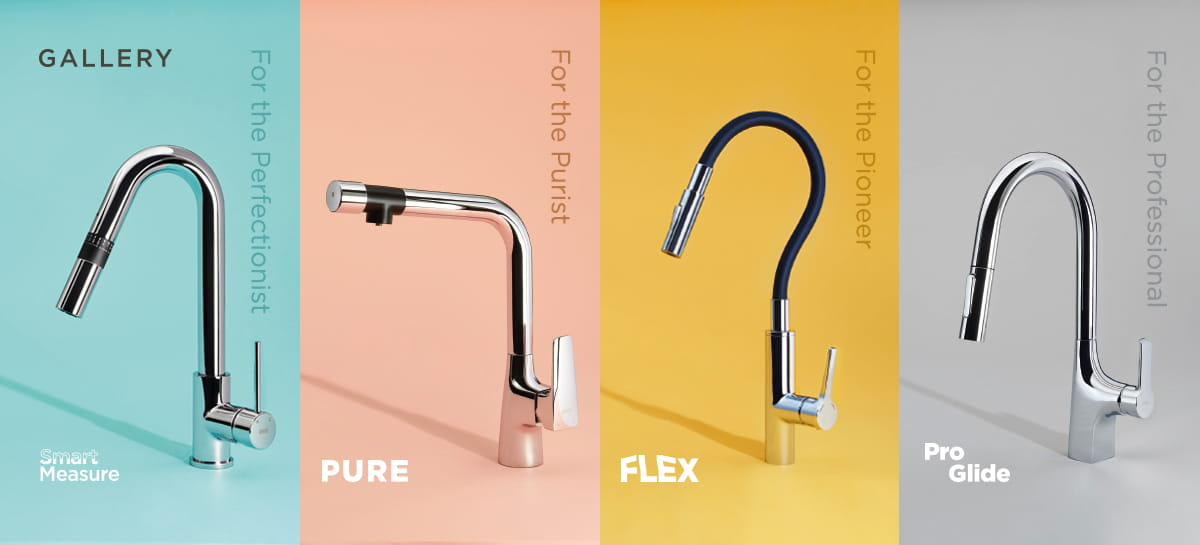Gallery Kitchen Tap Range