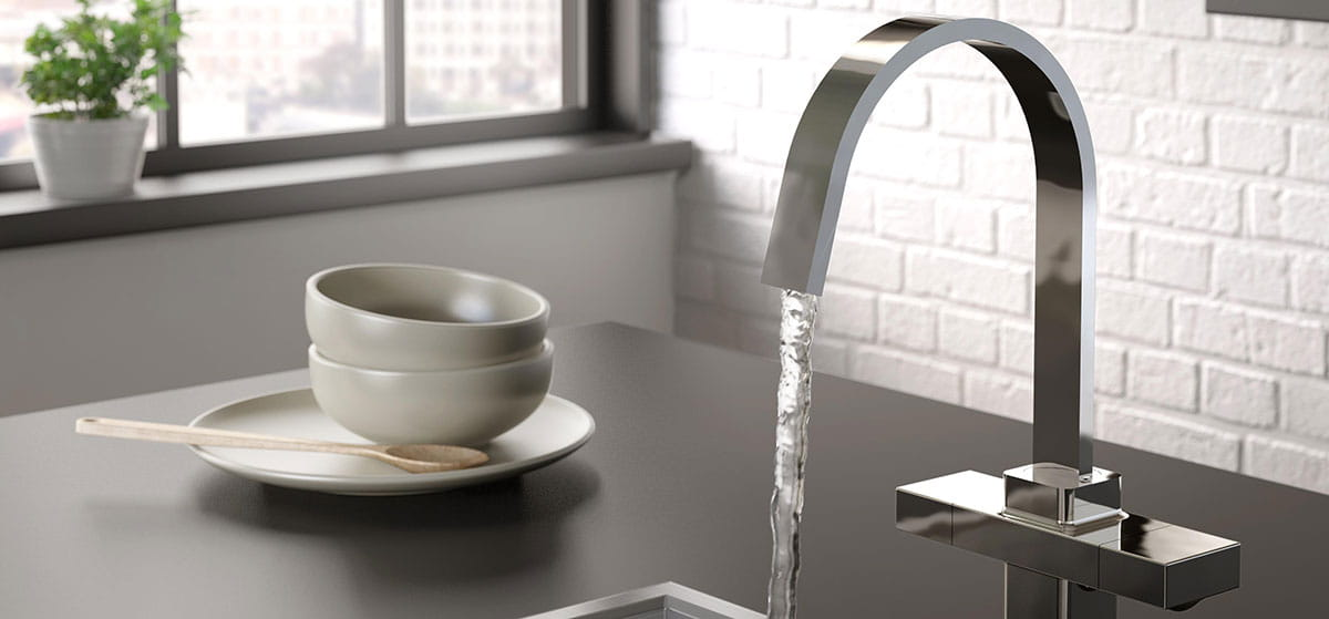 EasyFit kitchen taps from Bristan