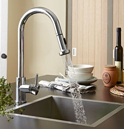 Apricot Kitchen Tap
