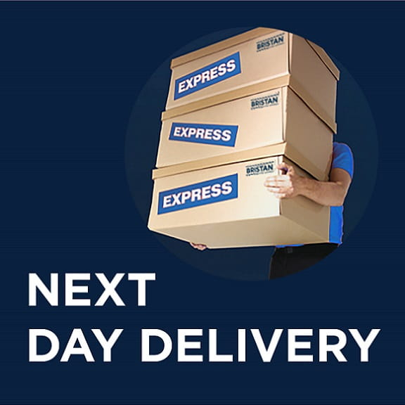 Next day delivery across our range
