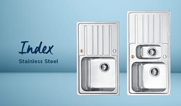 Kitchen sink Index Stainless Steel (Light background)
