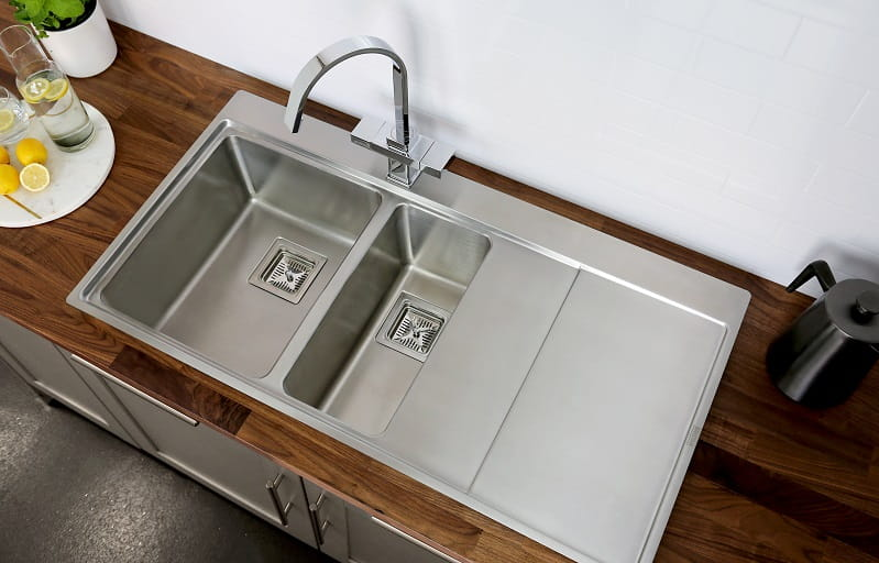Hero image of kitchen sink