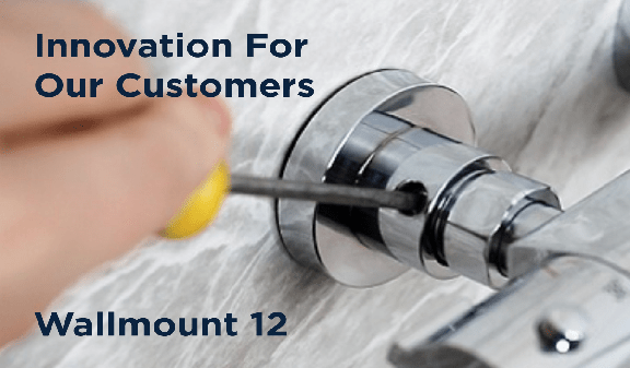 Innovation for our customers, Wallmount 12