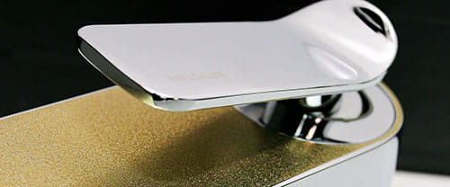 Champagne Shimmer Taps