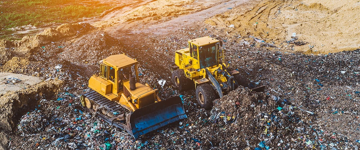iStock photography of landfill