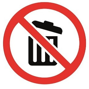 iStock photography to stop littering