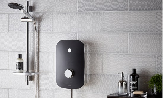 A photo of an electric shower