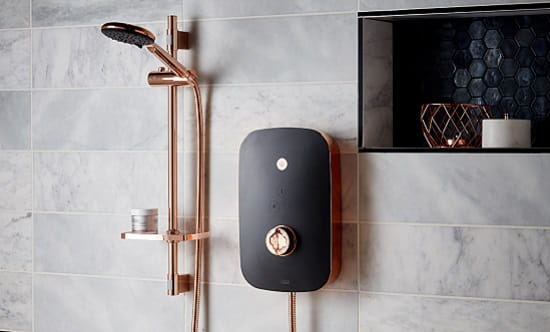 A picture of an electric shower