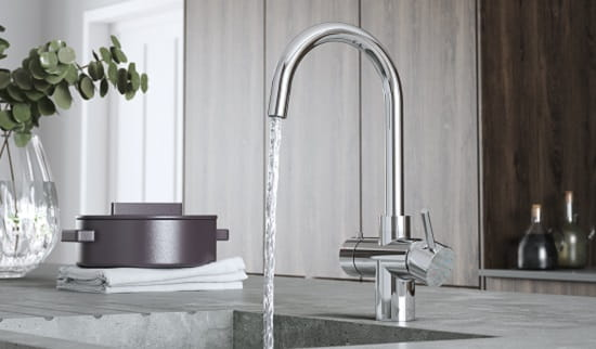 Rapid 3-in-1 Boiling Water Tap