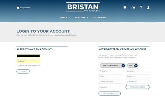 A screenshot of Bristan Bulletin