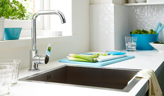 An image of a Bristan Blueberry Kitchen Tap