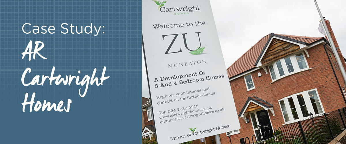 AR Cartwright Homes Case Study Banner