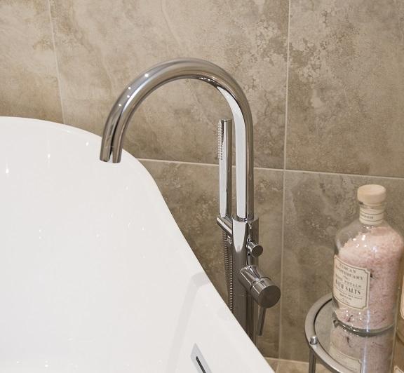 Hill Farm Bristan Floor Standing Bath Filler