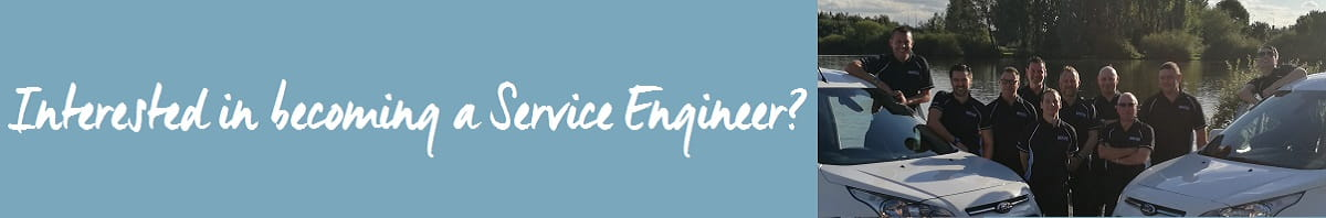 Interested in becoming a service engineer web banner