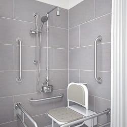 Bristan Stainless Steel Shower Kit