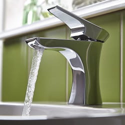 Hourglass Basin Mixer