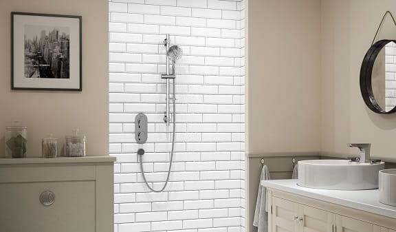 Hourglass Shower