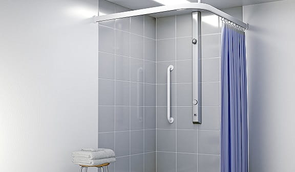 An image of a Bristan shower panel