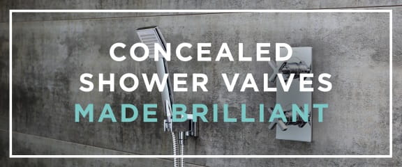 Concealed Showers Made Brilliant
