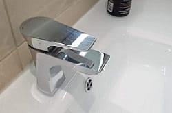 Hourglass Basin Mixer
