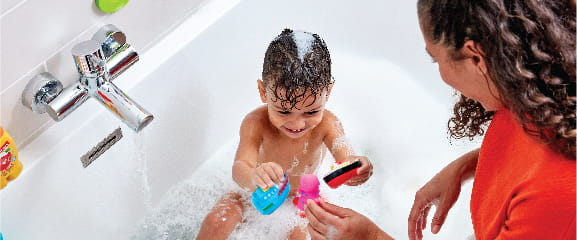 Make bathtime fun and safe with Bristan bathroom taps