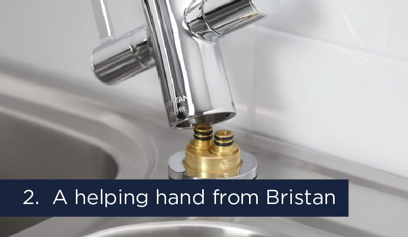 Get a helping hand from Bristan