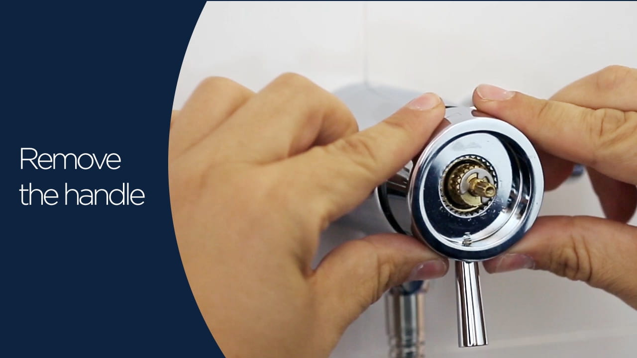 Mini valves cartridge maintanence peg handle