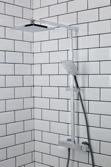 The Quadrato Bar Shower