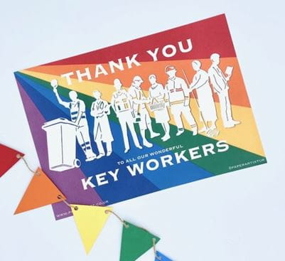 Thank you keyworkers!