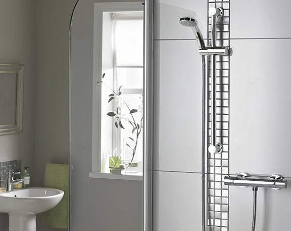 Zing Safe Touch shower